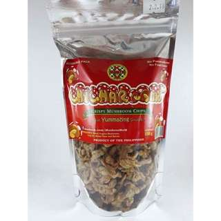 Chicharoom Crispy Mushroom 🍄 Chips