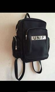 authentic UNIF bagpack