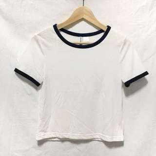 H&M短版純棉上衣