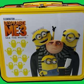 Despicable Me 3 Lunch Box - include other collectibles