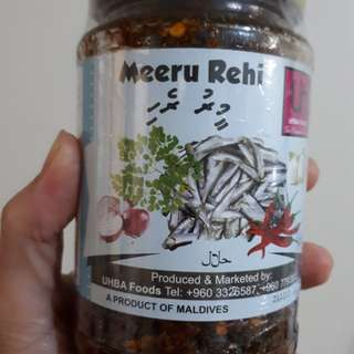 Meeru Rehi (spicy dried fish)