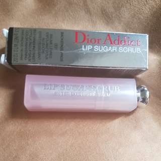 Dior lip sugar srub