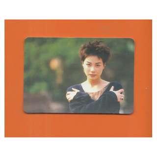 2766-YC-YES CARD-王靖雯,背面曲詞-夢中人