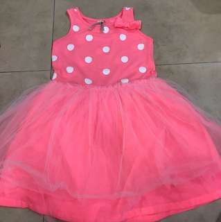 Cotton on tulle dress size 4