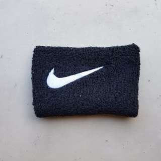 Original Nike Black Wristband