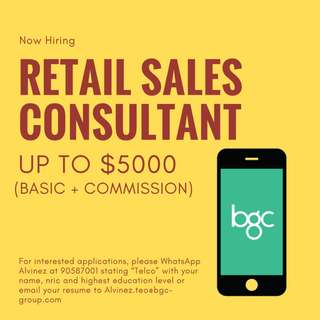 Mobile Retail Executive Telco UP TO $5000 (AZ)