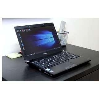 東芝R731 i3, 128GB SSD *100%正常,包試,面交*  高質快速手提電腦