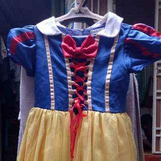 Preloved Snow White Kids Costume