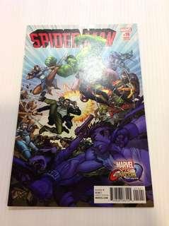 Spider-Man 19 Capcom Variant