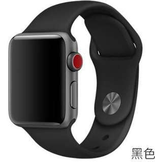 Apple watch 矽膠款表帶 (官方款式)