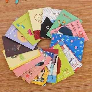 10 pcs MINI Notebook