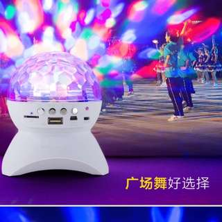 Bluetooth Speaker with disco light ( instock )
