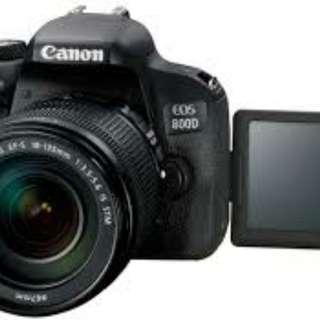 Yuk di Kredit Camera Canon EOS800D tanpa CC Proses kilat 3 menit