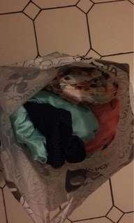 Bid bag of clothes