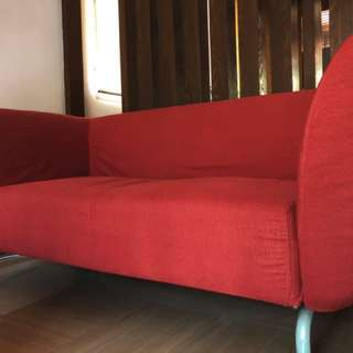 IKEA Fabric Sofa (with two interchangeable covers)
