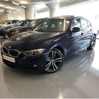 BMW 330IA SALOON M SPORT EDITION 2016