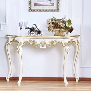 Offer - Grand Victorian style 140 cm length Console table