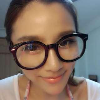 HOT!! KOREA NO.1 Fashion Brand Eyeglasses TR Frame Vintage Stylish  Spectacles For Unisex