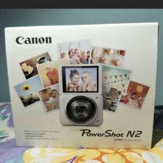 Canon Powershot  N2 自拍粉餅機