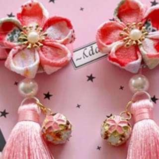 Chinese New Year princess hair clip