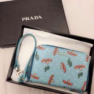Prada coins wallet