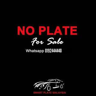 NICE PLATE NUMBER FOR SALE