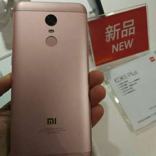 Xiaomi Redmi 5plus, 4+64G, Rose Gold Hong Kong/Global Version, price fixed