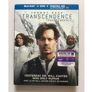 Transcendence Blu Ray + DVD