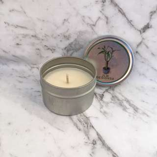 Vanilla Scented Tin Candle