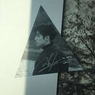 [WWT] GOT7 Mark triangle photocard - 7for7 album
