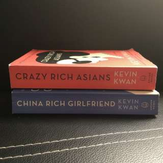 CRAZY RICH ASIANS & CHINA RICH GIRLFRIEND BUNDLE