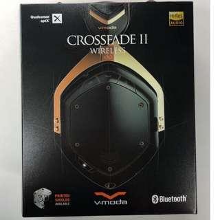 V-MODA Crossfade Wireless 2 Rose Gold Black