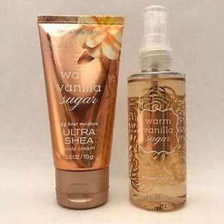 BATH & BODY WORKS MIST & CREAM