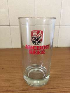 Unused Anchor Beer Glass