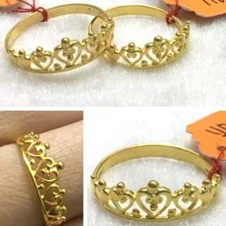 916 Gold Ring Tiara princess