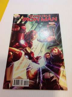 Invincible Ironman 10 Capcom Variant