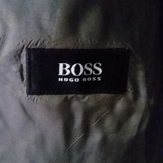Original Hugo Boss Coat and Pants terno (L)