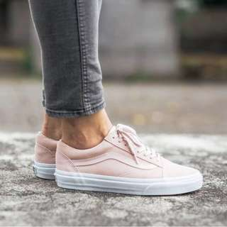 inspired pink suede vans old skool