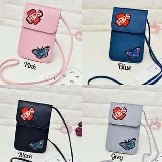 Tas mini selempang slingbag wanita pouch korea tas hp
