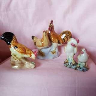 Porcelain chicken