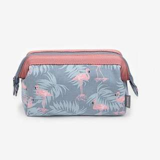 Flamingo Cosmetic or Make Up Case