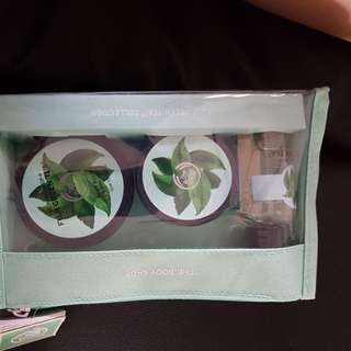 Body shop fuji green tea collection