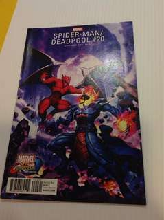 Spiderman/Deadpool 20 Capcom Variant