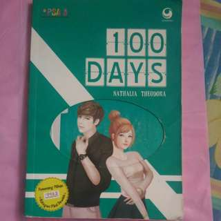 100 days (no nego, ongkir exclude hrg buku)