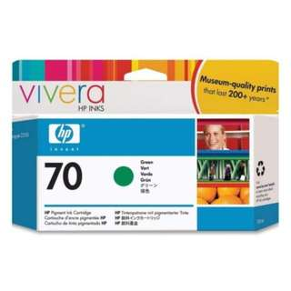 HP 70 DesignJet Ink Cartridge 130-ml - Green (C9457A)