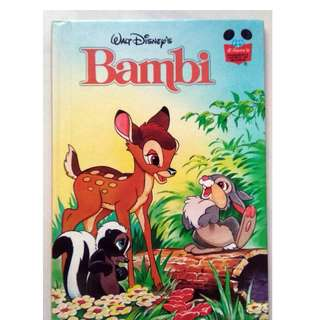 Preloved Disney Story Book - Bambi