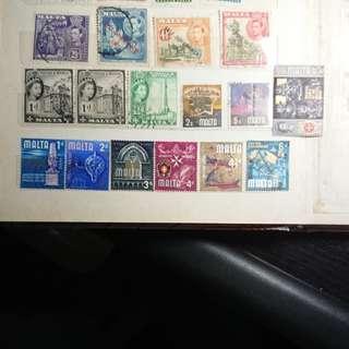 馬耳他郵票