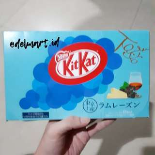 Kitkat jepang rum raisin flavor