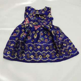 Gaun batik bayi