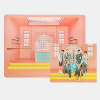 [WTS] BTS 4TH MUSTER MD: DESK & MOUSEPAD SET